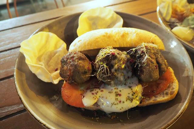 Muslim chuck meatballs Santap cafe singapore