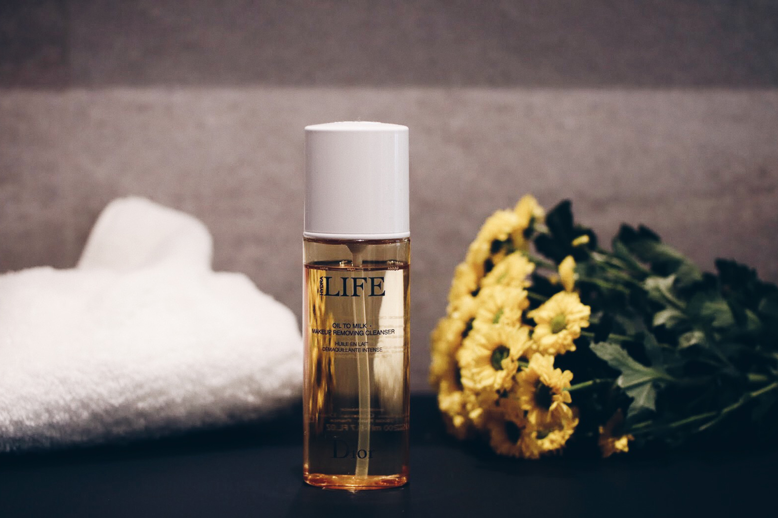 dior hydra life oil to milk huile démaqquillante avis test