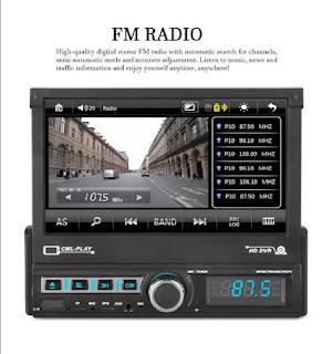 1 DIN AUTORADIO GPS BLUETOOTH 7110GM