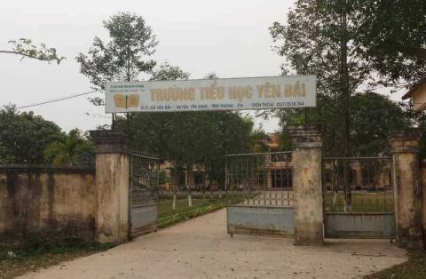 Trường tiểu học Yên Bái – nơi trước kia bà Q và ông T công tác