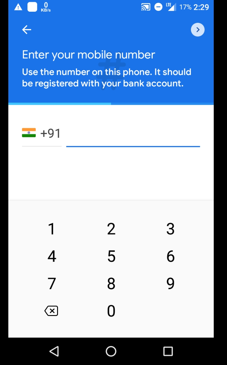 How to Google play sign up and upi pin set & refer each ₹51
