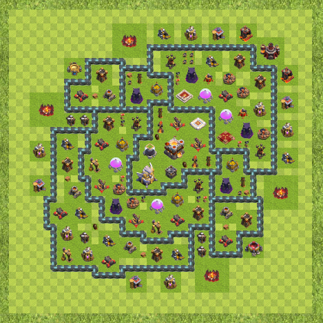 War Base Town Hall 11 (Base TH 11 Layout)   Game Not Dead