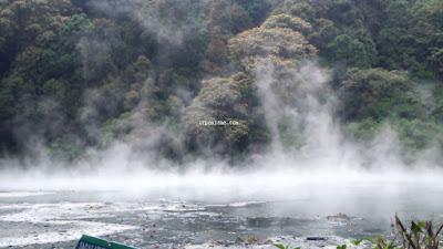 Kawah Manuk Geothermal Kamojang Bandung