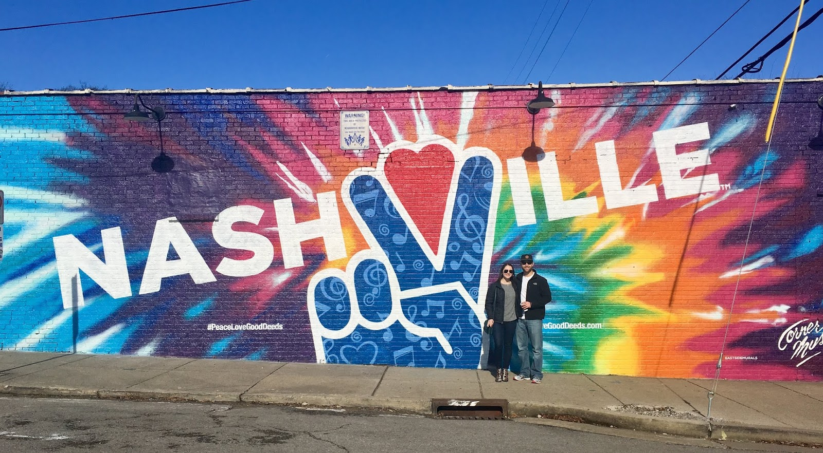 Murals in 12 South Neighborhood Nashville | What to do in the 12 South Neighborhood Nashville | Itinerary for a Long Weekend in Nashville | A Memory of Us
