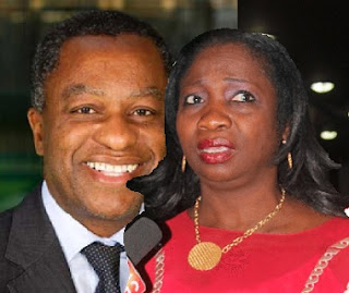 Abike Dabiri and Geoffrey Onyeama,