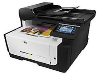 Picture HP LaserJet Pro CM1415fnw Printer