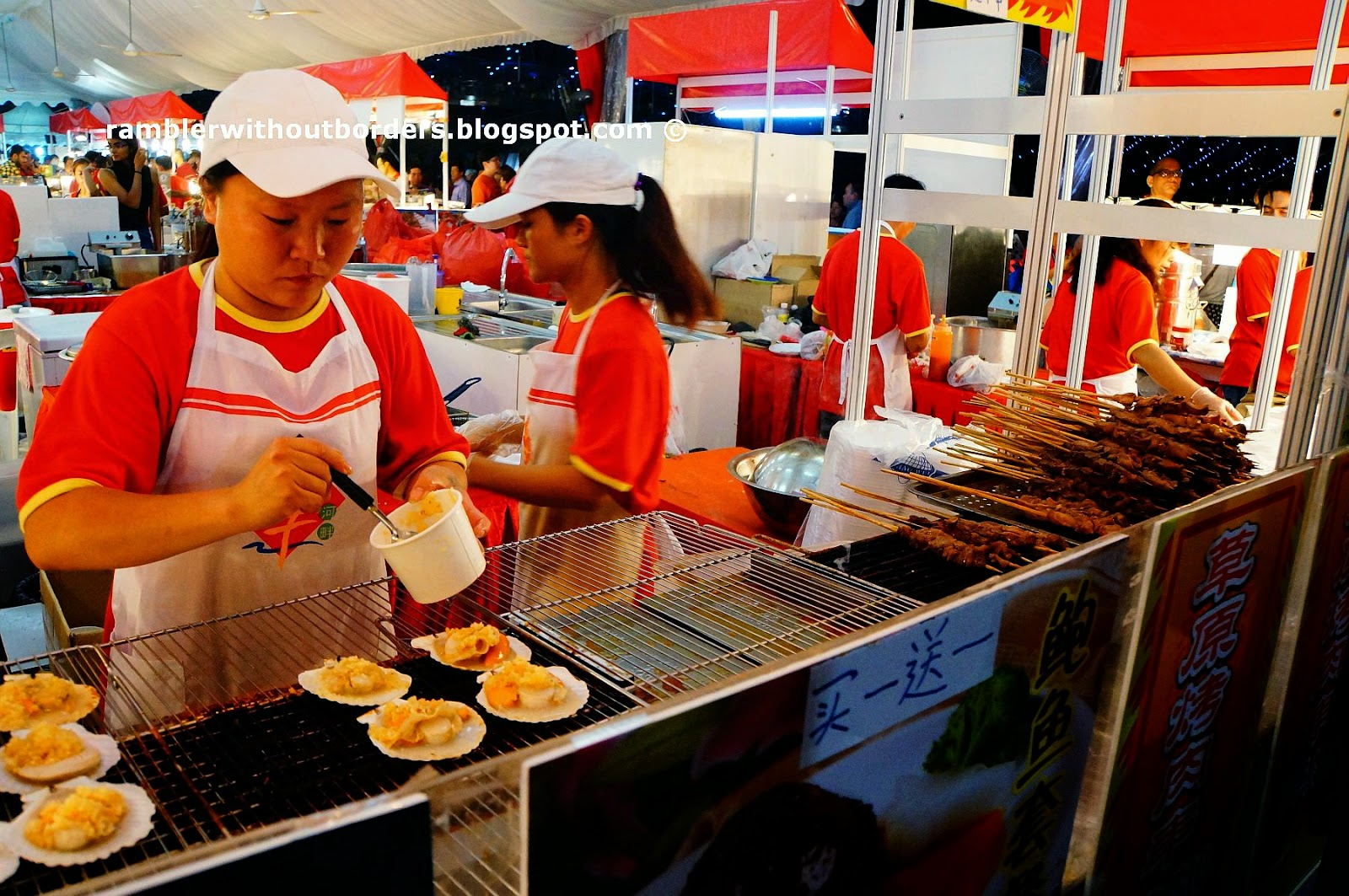 Food stall, River Hongbao, Singapore