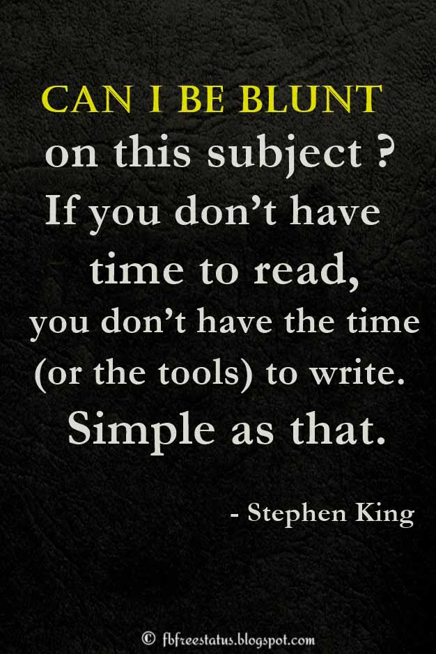 Stephen king motivational quotes