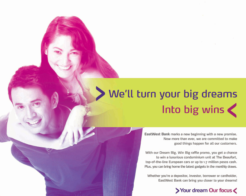 Eastwest Bank Car Loan Promo