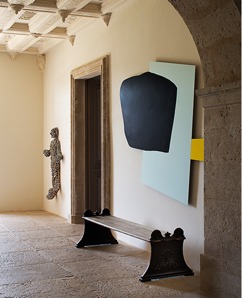 Pierre Yovanovitch Chateau in Provence Entry Way Belle Vivir Blog