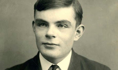 Alan Turing at Sherborne school in Dorset, aged 16, in 1928.