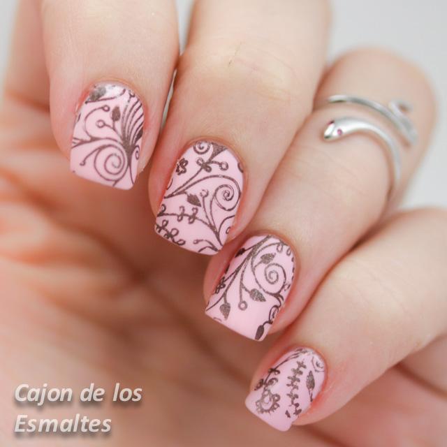Uas Decoradas Rosa Gallery Of Uas Decoradas De Rosa Pink Nail Art