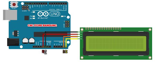 LCD I2C Arduino Uno