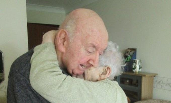 Mãe de 98 (noventa e oito ) anos de idade se muda para asilo para cuidar de filho de 80 (oitenta) anos de idade