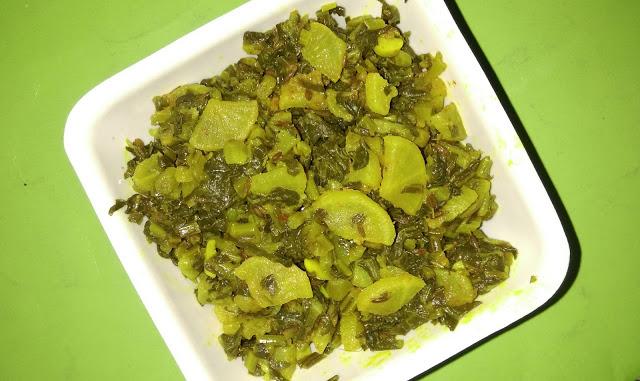 Mooli ki Bhurji recipe | Radish Vegetable (Dry) recipe | How to prepare Mooli ki Bhurji?
