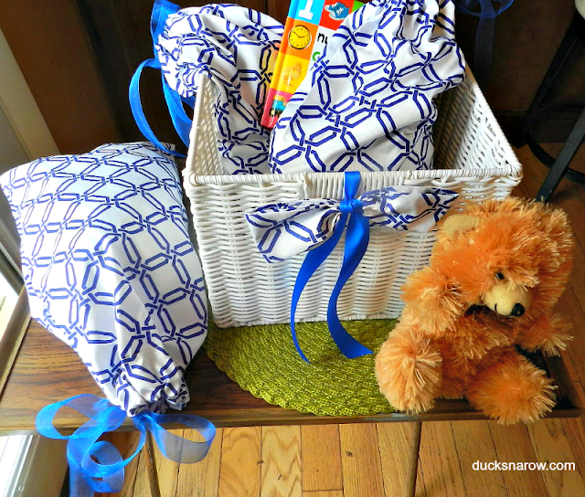 how to make a drawstring bag, sewing tips