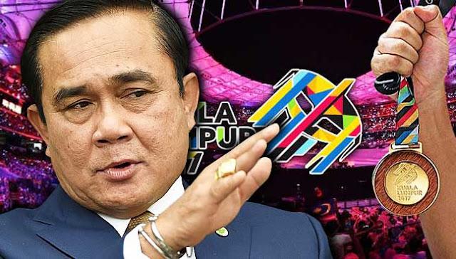 PM Thailand Pertahan Malaysia Sukan SEA 2017