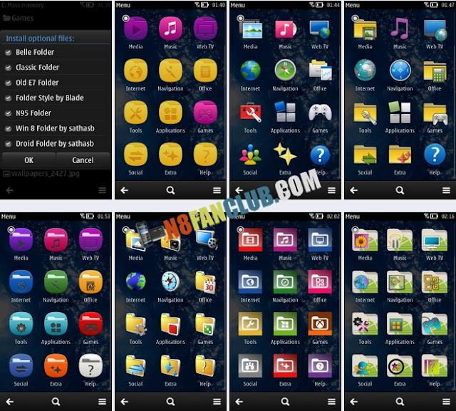 Symbian 3 belle rus скачать