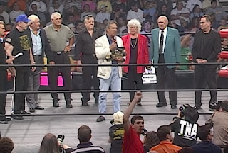 NWA: TNA - First Ever Event - Ricky 'The Dragon' Steamboat and the NWA legends present the TNA title