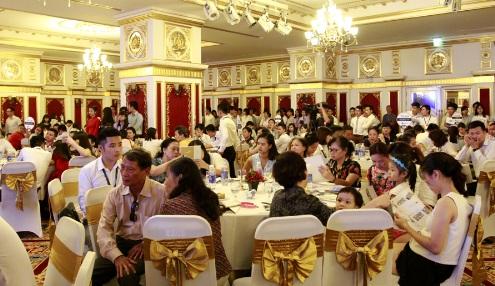Lễ ra mắt dự án The Golden Palm thu hút hơn 500 khách hàng