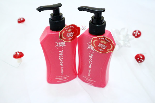 La Rose Rouge hair shampoo & Conditioner Review