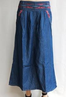 Rok Jeans Panjang RM373