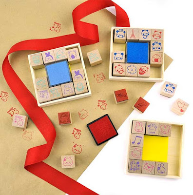 stamp sets at CoolPencilCase.com