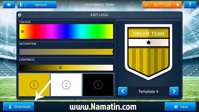 cara edit logo dream league soccer 2019