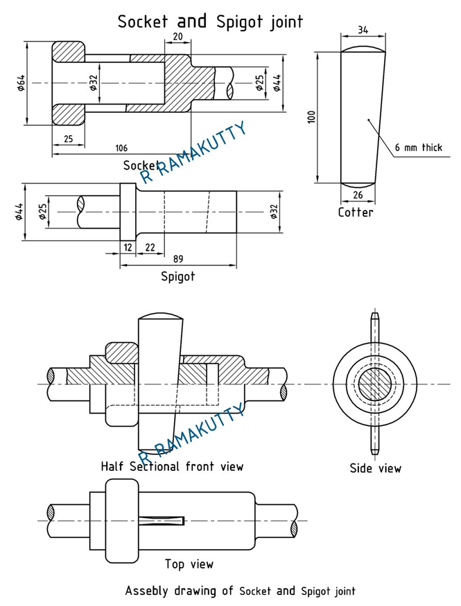 Pdf Of Cotter Joint