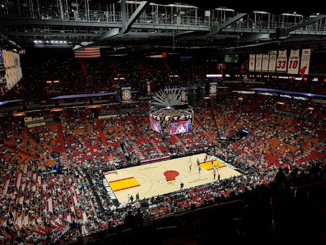 American Airlines Arena em Miami: Jogos da NBA do Miami Heat