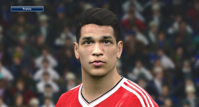 PES 2016 Youngstar Facepack