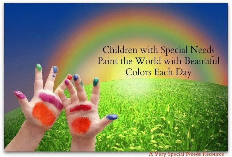 Children With Special Needs Paint The World With Beautiful Colors