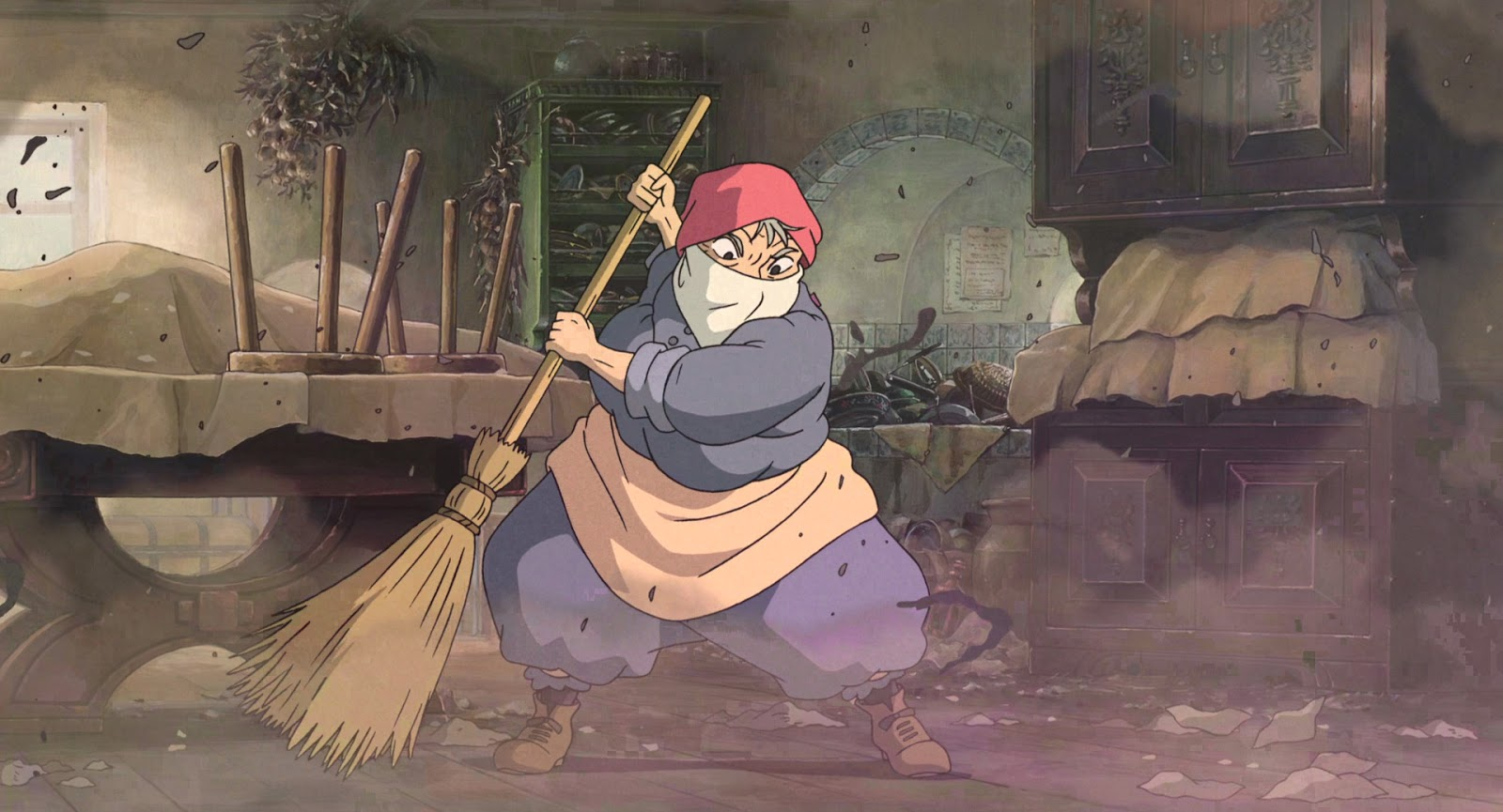 howls moving castle in terms of In the land of ingary, such things as spells, invisible cloaks, and seven-league  boots were everyday things the witch of the waste was another matterafter.