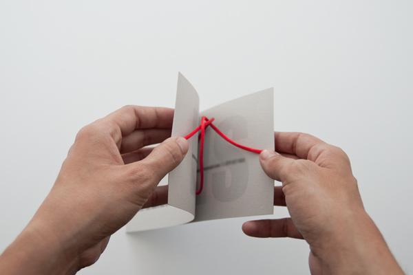 Creative and unusual wedding card