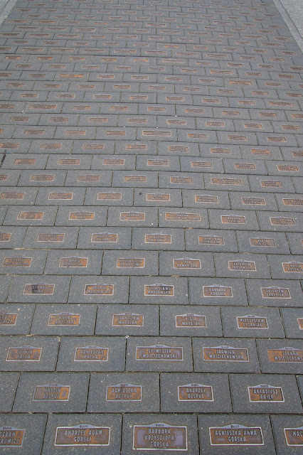 Walk of fame su Ulica Piotrowska-Lodz