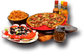 Pizza, subs, Calzones, salads, wings