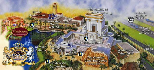 Detalhes do Holy Land Experience em Orlando