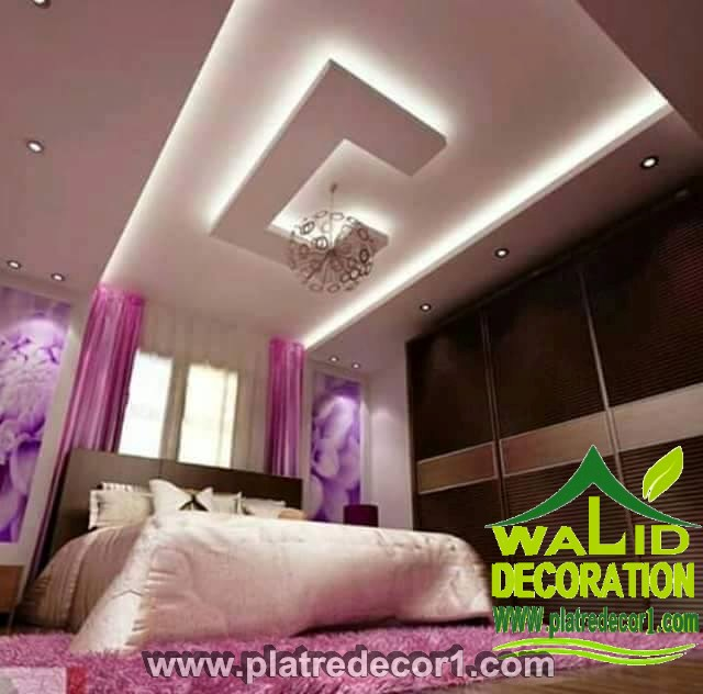 Decoration platre plafond moderne for Dicor platre 2016