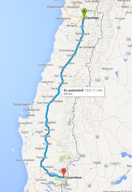Cómo llegar a Termas Rio Trancura en Villarrica en Autobús ...