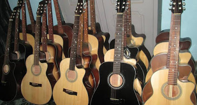 Chất lượng đàn Guitar làm từ gỗ ép