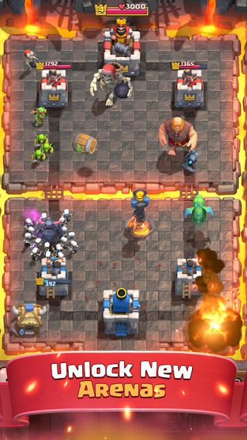 Game Baru Seru Clash Royale APK