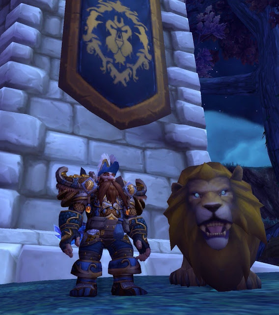 Transmogrification: Ranger General of The Alliance Hunter