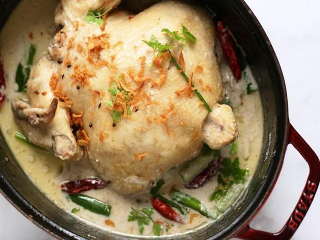 resep opor ayam sederhana