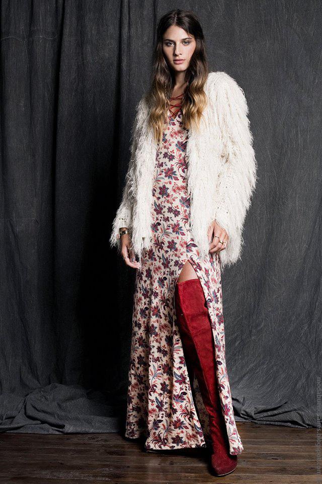 Tapados cortos y maxivestidos moda otoño invierno 2016 ropa de mujer Sans Doute.
