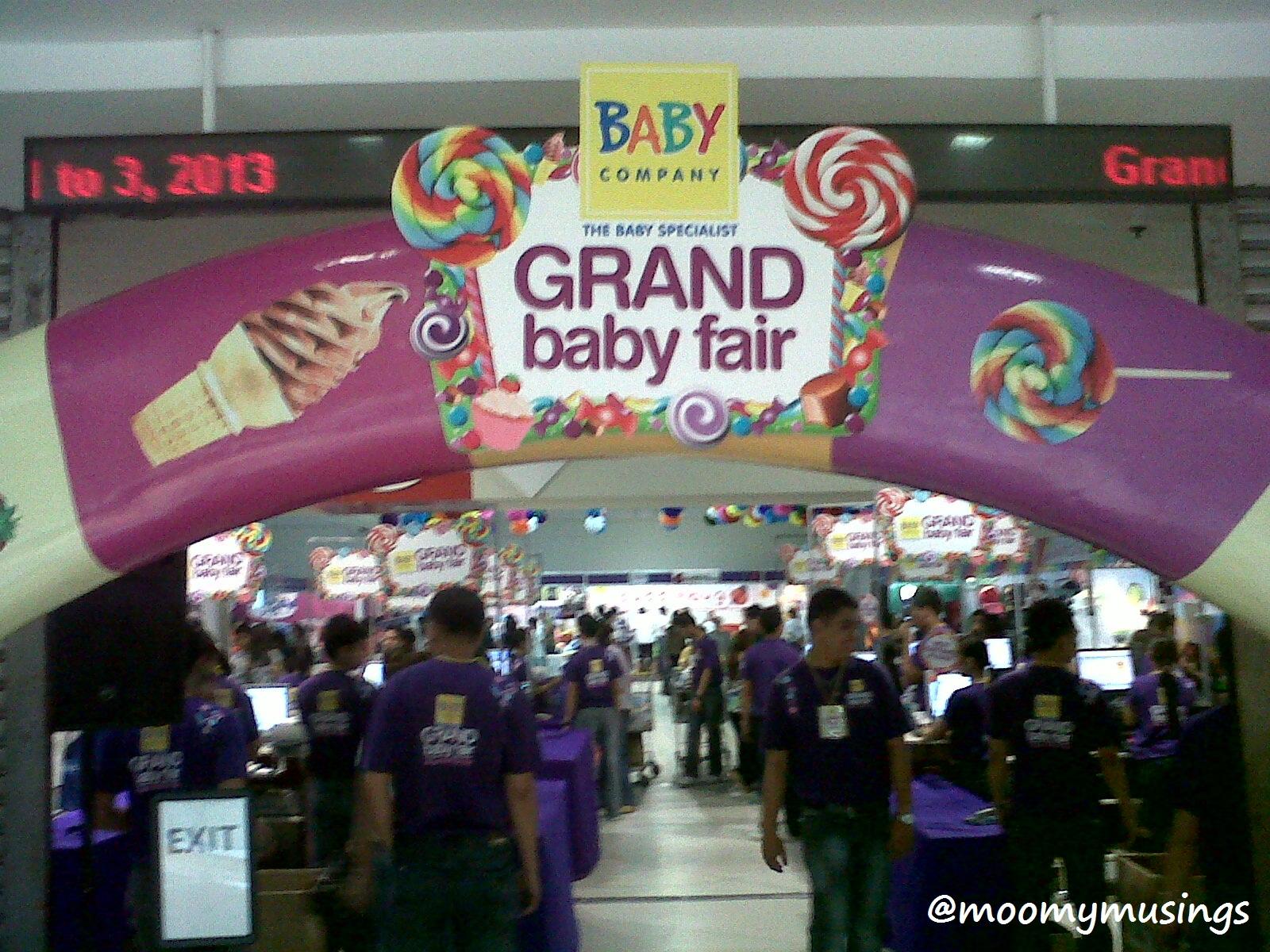 Baby Company S Grand Baby Fair 3 Moomy Musings