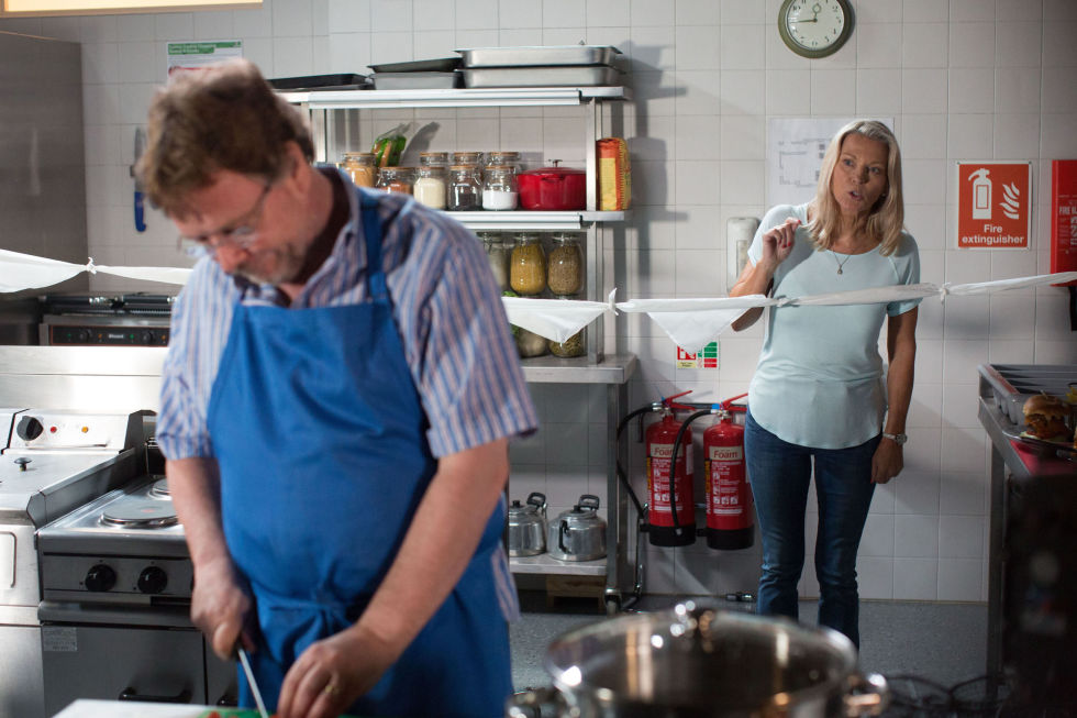 EastEnders Ian Beale is furious with Kathy's new man