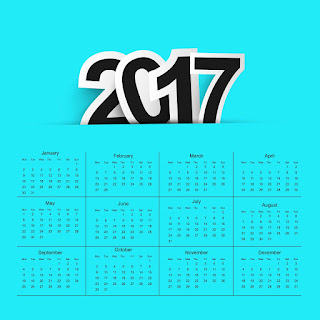 2017カレンダー無料テンプレート184