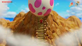Link standing in front of the Wind Fish Egg