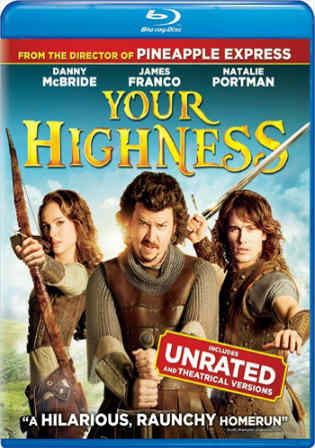 Your Highness 2011 BRRip 950MB UNRATED Hindi Dual Audio 720p Watch Online Full Movie Download bolly4u