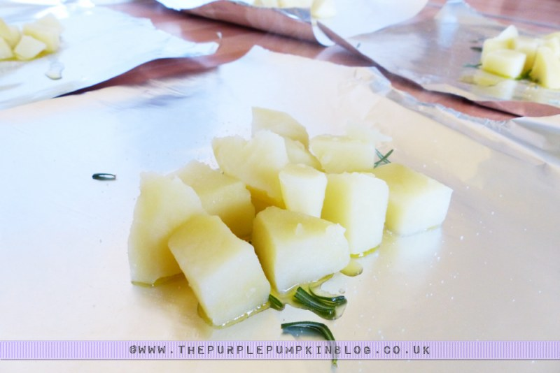 Budget #BBQ for a family of 4 for a tenner! with ASDA & #CBias: Garlic & Rosemary Potato Parcels